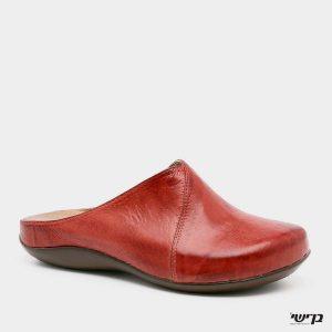 דגם הילה: כפכף סגור בצבע אדום