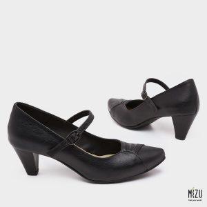 דגם אספרנסה: נעלי עקב בצבע שחור