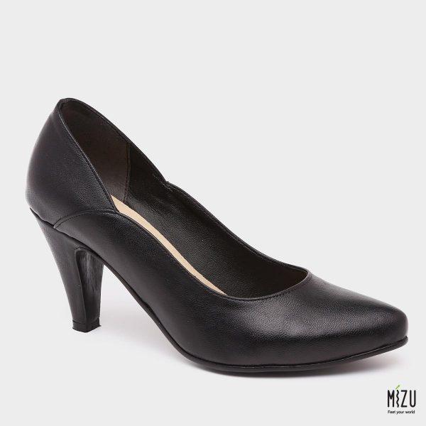 דגם פלורנסיה: נעלי עקב בצבע שחור