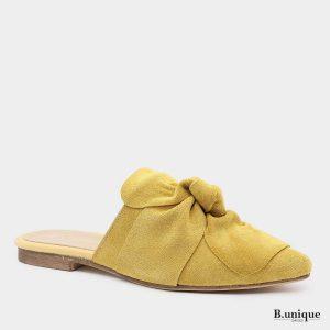 דגם יוליאנה: כפכף בצבע צהוב
