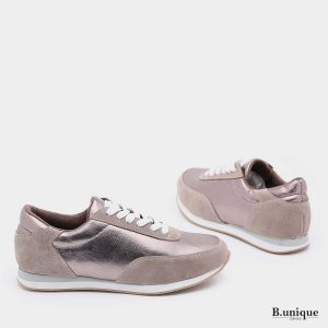 דגם ניקולט: נעליים בצבע ברונזה