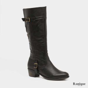 דגם אליזבת: מגפיים בצבע שחור