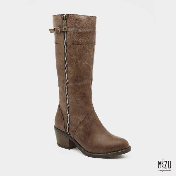 דגם רוזליה: מגפיים בצבע חום