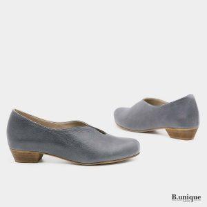 דגם מארי: נעלי בובה בצבע ג'ינס