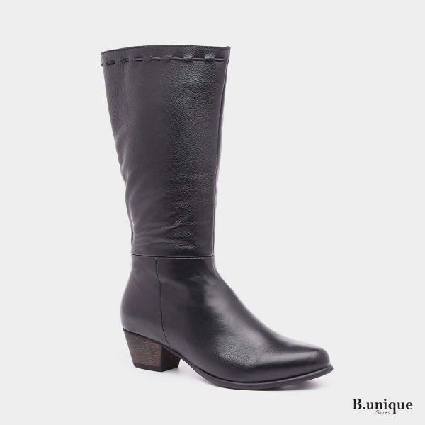 דגם צ'ארלי: מגפיים בצבע שחור