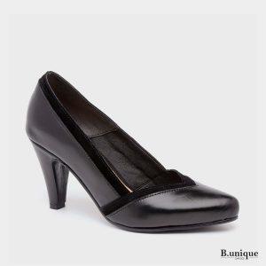 דגם דיאנה: נעלי עקב בצבע שחור