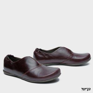 דגם נעמה: נעליים בצבע סגול חציל