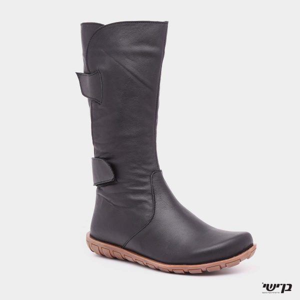 דגם דינה: מגפיים בצבע שחור