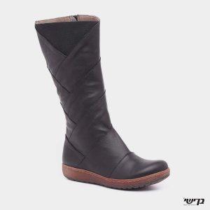 דגם נופר: מגפיים בצבע שחור