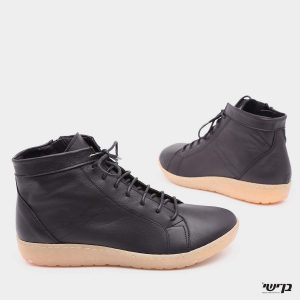 דגם עמית: נעליים בצבע שחור