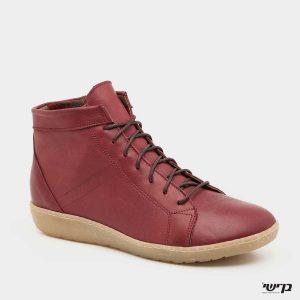 דגם עמית: נעליים בצבע בורדו