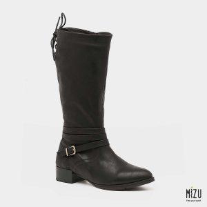 בלעדי לאתר - דגם פליסיטס: מגפיים בצבע שחור