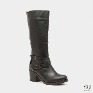 דגם סילבנה: מגפיים בצבע שחור