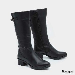 דגם דידי: מגפיים בצבע שחור