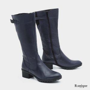 דגם דידי: מגפיים בצבע כחול
