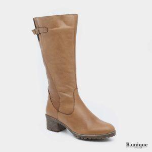 דגם דידי: מגפיים בצבע קאמל