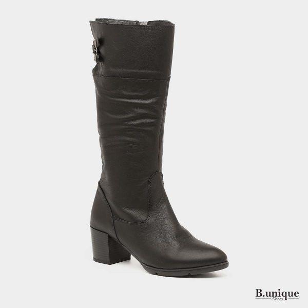 דגם רוזי מגפיים בצבע שחור