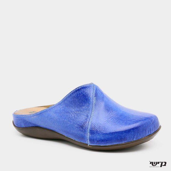 דגם הילה: כפכף סגור בצבע כחול