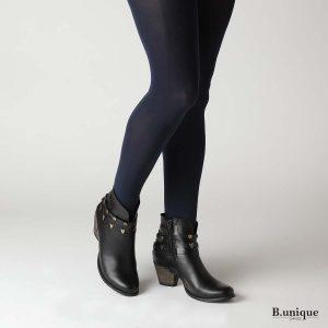 גרביון טייץ בצבע כחול כהה
