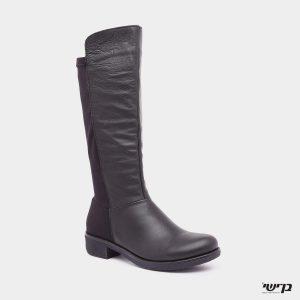 דגם יעל: מגפיים בצבע שחור