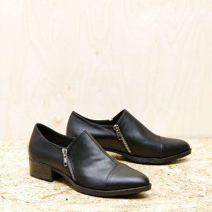 בלעדי לאתר - דגם מנדי: נעליים בצבע שחור – B.unique