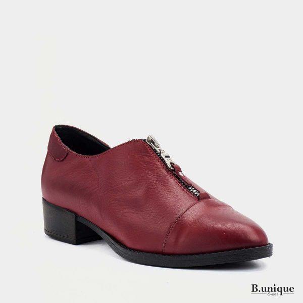 דגם מיילו: נעליים בצבע בורדו