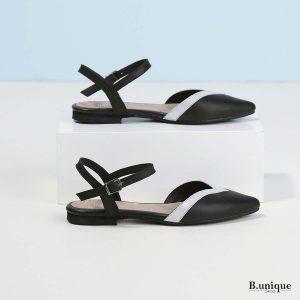 דגם סמנתה: נעליים בצבע שחור