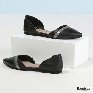 דגם אליסיה: נעליים בצבע שחור