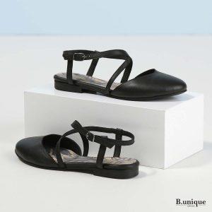 דגם ג'ולייט: נעליים בצבע שחור