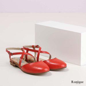 דגם ג'ולייט: נעליים בצבע אדום