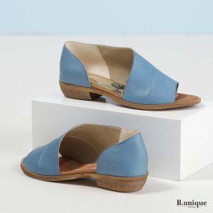 דגם מלני: נעליים בצבע ג'ינס