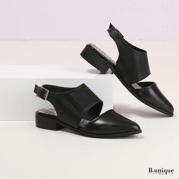 דגם מירנדה: נעליים בצבע שחור