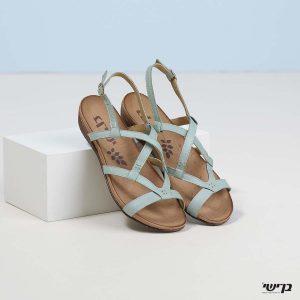 בלעדי לאתר - דגם מרגוט: נעליים בצבע מנטה