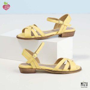 דגם מקנזי: סנדלים בצבע צהוב