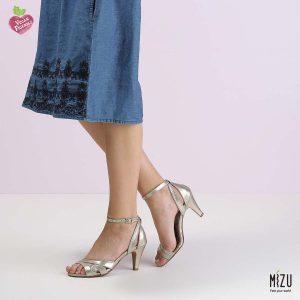 בלעדי לאתר - דגם ריאהנה: נעליים בצבע זהב