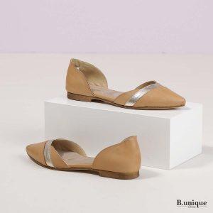 דגם אליסיה: נעליים בצבע קאמל