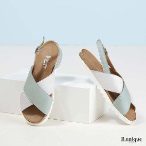 דגם מדלין: סנדלים בצבע מנטה