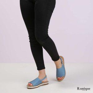 דגם אווה: סנדלים בצבע ג'ינס