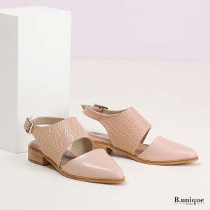 דגם מירנדה: נעליים בצבע ורוד