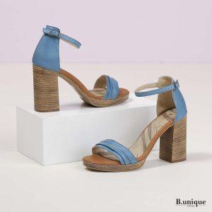 בלעדי לאתר - דגם קטיה: נעליים בצבע ג'ינס