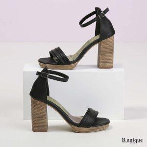 בלעדי לאתר - דגם קטיה: נעליים בצבע שחור