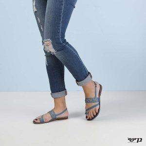 דגם פיונה: סנדלים בצבע ג'ינס