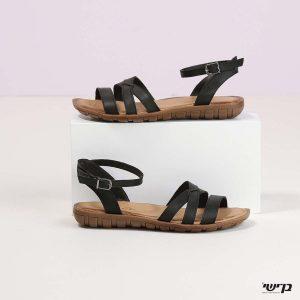 דגם שרה: סנדלים בצבע שחור