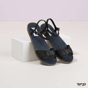 בלעדי לאתר - דגם ססיליה: נעליים בצבע שחור
