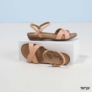 בלעדי לאתר - דגם ביאטריס: נעליים בצבע פודרה