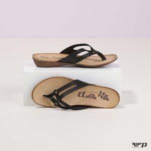בלעדי לאתר - דגם סוזי: נעליים בצבע שחור