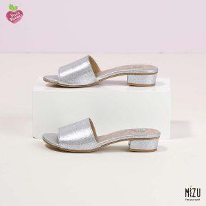 בלעדי לאתר - דגם אוליב: נעליים בצבע כסף