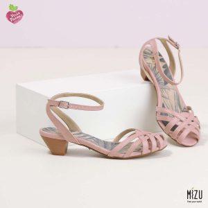 בלעדי לאתר - דגם מרטינה: נעליים בצבע ורוד