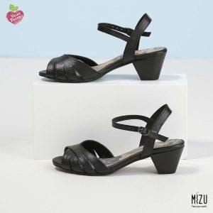 בלעדי לאתר - דגם לוסיאנה: נעליים בצבע שחור