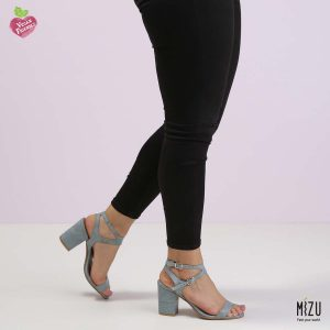 דגם ראשל: סנדלים בצבע ג'ינס